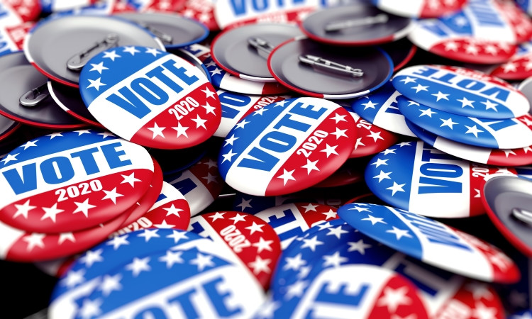 As the 2020 US presidential race kicks off, few candidates are seeking trademark protection